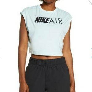 Nike Air Logo  Sport Crop Top L (12-14)